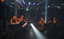 Wonder string quartet at the sports promotion