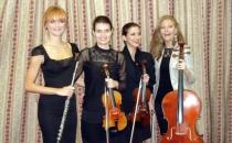 Kvartet sa flautom na obeležavanju primirja u I svetskom ratu - Bitolj, Makedonija