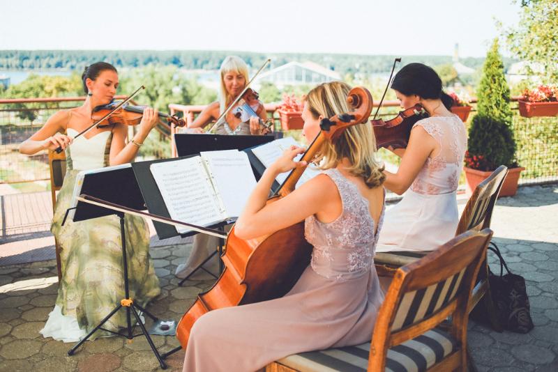 Venčanje na Kalemegdanskoj terasi