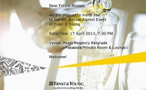 4th Annual Alumni Event of Ernst&Young