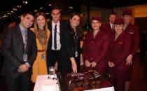 Qatar Airways coctail